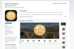 Epirus Treasures, 360 videos, virtual tour, gigapixel, panorama, IOS mobile Applications